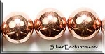 Copper Round Bead, 16mm