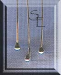 Sterling Silver Headpins with 2mm Ball Accent (10)