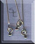 Sterling Silver Headpins with 2mm Ball Dangle (10)