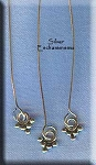Sterling Silver Fancy Dangle Headpins (2)