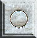 Sterling Silver Closed Jump Rings, 8mm (10)