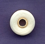 WHITE Nymo Thread, Size 00 Very Fine Nylon Beading Thread