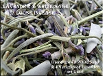 SOLDOUT for Season - Lavender and White Sage Loose Incense - Relaxing & Purifying Loose Smudge
