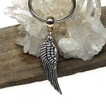 Angelwing Key Ring, Double Sided Angel Wing Keychain
