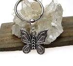Butterfly Key Ring, Butterfly Totem Spirit Guide Keychain, Butterfly Key Chain