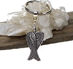 ZSOLDOUT / Angel Wings Keychain, Angelwings Spiritual Keychain, Angelwings Key Ring