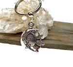 Sun and Moon Key Ring, Celestial Keychain