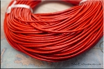 1.5mm Red Leather Cord, 10-feet