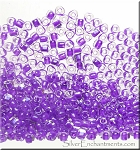 TR10-1123 Miyuki 10/0 Triangle Beads, Purple Color Lined, 10-grams