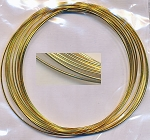 Bracelet Memory Wire, Gold Plated
