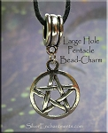 Pentacle Large Hole Dangle - Fits All European Add a Bead Jewelry
