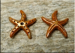 Starfish Pendant with Copper Rust Patina