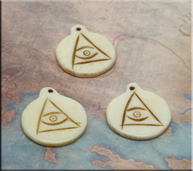 All Seeing Eye Pendant Evil Eye Talisman