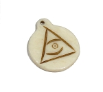 All Seeing Eye Pendant, Evil Eye Talisman