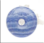 Large Blue Calcite Donut 50mm