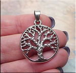 Bailed Tree of Life Pendant Necklace