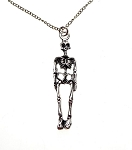 Skeleton Necklace, 3D