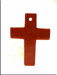 Goldstone Cross Pendant