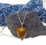 Butternut Mookaite Jasper Pendulum Necklace - SOLD