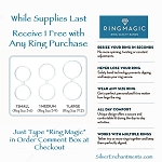ZSOLDOUT / Ring Magic Ring Safety Band, FREE - Click for Code & Info