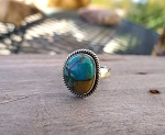 ZSOLDOUT / Turquoise Ring Size 7