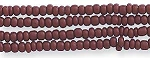 Czech Seed Beads Opaque Light Brown Size 12/0 Hank
