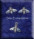 Sterling Silver Bee Jewelry, Honey Bee Stud Earrings and Charm