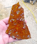 Noreena Jasper Slab, 121x85x6.1mm