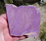ZSOLD / Phosphosiderite Slab, 89x85x7mm
