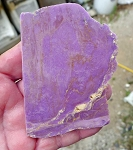 Phosphosiderite Slab, 92x67x5.9mm
