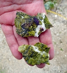 Atlantisite Slabs, Stichtite in Serpentine, 2pc