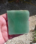Aventurine Slab, 67x64x6.9mm