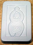 Earth Goddess Soap Mold, Spiral Goddess Soap Mold, Pagan Soap Molds