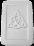 SOLDOUT - Triquetra Soap Mold, Celtic Soap Mold