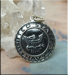 Sterling Silver United States Navy Charm, Military Charm