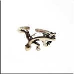SOLDOUT - Sterling Silver Gecko Toe Ring
