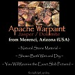 Apache Warpaint from Arizona