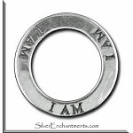 Sterling Silver I AM Affirmation Charm
