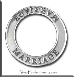 Sterling Silver Marriage Charm