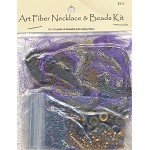 Art Fiber Necklace Kit, Purple Royale
