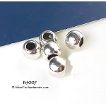 ZSOLDOUT / Plain Rondelle Large Hole Beads 10mm with 5mm Opening (10)
