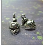 Silver Knight Helm Necklace, Legion Helmet