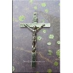 Crucifix Rosary Cross Necklace