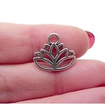 Lotus Necklace - Everyday Silver Jewelry