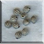 Olive Barrel Beads Grenade Beads 7x8x8mm Bulk (10)
