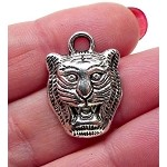 Tiger Charm, Tiger Face Jewelry