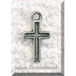 Small Simple Cross Charms (1)