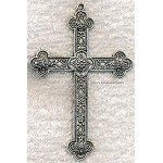 SOLDOUT - Large Ornate Cross Necklace, 3