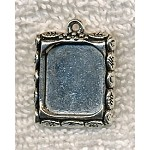 ZSOLDOUT / Decorative Bezel Frames or Picture Frame Charms (10)