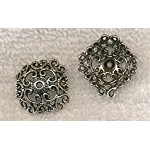 Filigree Square Bead Cap 19mm